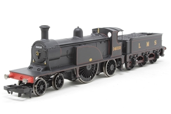 R2683-PO07 Caledonian Single Class 4-2-2 14010 in LMS Lined Black Limited Edition of 2000 - Pre-owned -  imperfect box