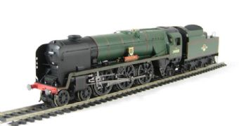"""R2708 Rebuilt West Country Class 4-6-2 34008 """"Padstow"""" in BR Green with late crest"""
