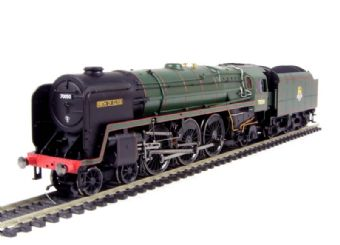 "R2718 Class 7P6F 4-6-2 Britannia 70050 ""Firth of Clyde"" in BR Green with early emblem"