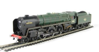"R2719 Class 7P6F 4-6-2 Britannia 70038 ""Robin Hood"" in BR Green with late crest"