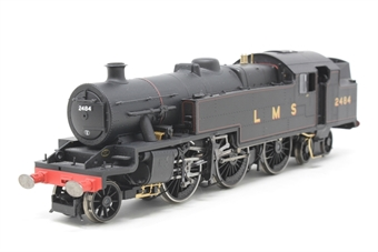 R2730-PO02 Stanier 4MT 2-6-4T 2484 in LMS Black - Pre-owned - Missing couplings, minor marks on pipes, imperfect box