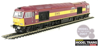 R2746 Class 60 60029 'Clitheroe Castle' in EWS livery