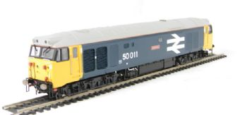 "R2748 Class 50 50011 ""Centurion"" in BR blue with large logo"