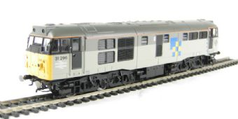 R2753 Class 31 31296 in Railfreight Construction with Immingham decal