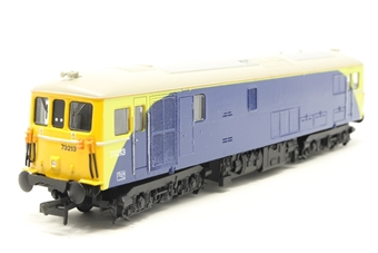 R2765-PO01 Class 73 73213 in NR Green and Blue - Pre-owned - renumbered and repainted, imperfect box