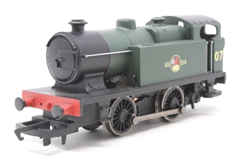 R2773-PO04 Industrial steam 0-4-0 locomotive 07 in BR green - Pre-owned - replacement box
