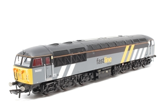 R2776-PO04 Class 56 56302 'Wilson Walshe' in Fastline Freight Livery - Rail Express Ltd Edn - Pre-owned -  imperfect box