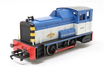 R2783 Class 06 Shunter 06008 in Pullman blue & white - Collectors club limited edition