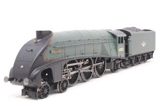 """R2784X-PO20 Class A4 4-6-2 60022 """"Mallard"""" in BR Green with late crest - (Railroad Range) - Pre-owned - DCC removed, glue marks on boiler, missing coupling hook"""
