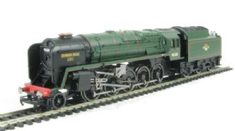 "R2785 Class 9F 2-10-0 92220 ""Evening Star"" loco & tender in BR green - Railroad range (Loco Drive) £74"