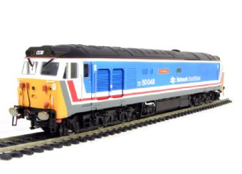 "R2793 Class 50 50048 ""Dauntless"" in original Network Southeast livery"