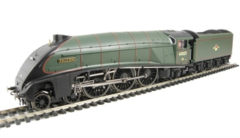 "R2794M.Loco A4 4-6-2 60025 ""Falcon"" in BR Green - from Ltd Ed ""Heart of Midlothian"" train pack"