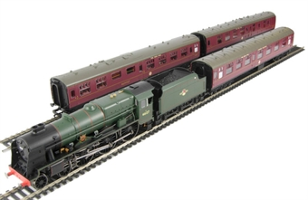 """R2796M """"The Irish Mail"""" train pack with Rebuilt Royal Scot Class 4-6-0 46127 """"Old Contemptibles"""" in BR late green"""