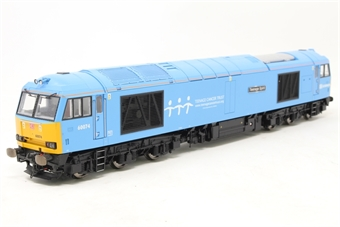 "R2800-PO05 Class 60 60074 ""Teenage Spirit"" in DB Schenker charity blue - Rail Express Limited Edition - Pre-owned - DCC fitted - imperfect box"