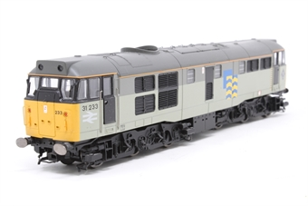 R2803XS-PO04 Class 31 31233 in Railfreight Subsector Petroleum with DCC sound - Pre-owned - detached buffer - imperfect box
