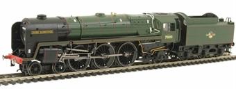 R2835 Britannia Class 4-6-2 70010 'Owen Glendower' in BR Green with late crest