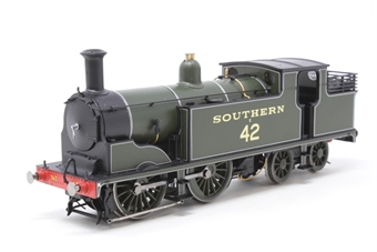 R2840-PO03 Class M7 0-4-4T E42 in SR Maunsell Green - Pre-owned - Like new