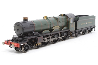 "R2848X-PO02 Castle Class 4-6-0 ""Tintagel"" in GWR Green - Pre-owned - DCC Sound-fitted, imperfect box"