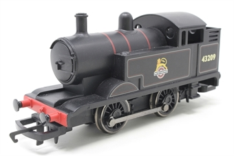 R2877-PO22 Freelance 0-4-0T 43209 in BR Lined Black - 2009 Collectors' Club Loco - Pre-owned - replacement box