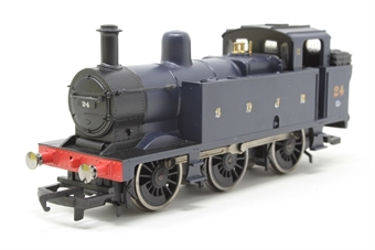 R2882-PO16 Class 3P Jinty 0-6-0T 24 in S&DJR Blue (Railroad range) - Pre-owned - Like new, imperfect box £34
