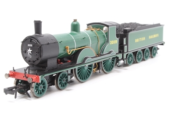 R2889-PO02 Class T9 Greyhound 4-4-0 30119 in SR Lined Bulleid Green as per Royal Train duty. Collectors Centre Ltd Ed of 1200. - Pre-owned - DCC fitted, non runner