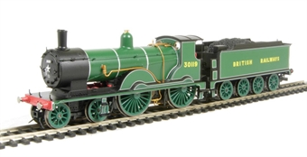 R2889 Class T9 Greyhound 4-4-0 30119 in SR Lined Bulleid Green as per Royal Train duty. Collectors Centre Ltd Ed of 1200.