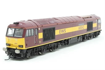 R2899XS-PO02 Class 60 60042 ''The Hundred of Hoo'' in EWS livery with sound - Pre-owned - fitted with Kadee couplings