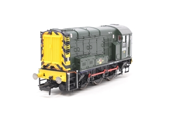 R2903XS-PO08 Class 08 Shunter D3105 in late BR green with wasp stripes with sound - Pre-owned - Like new