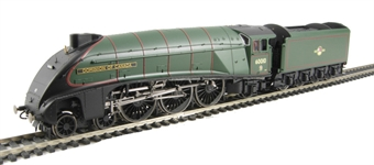 R2910 Class A4 4-6-2 60010 'Dominion Of Canada' in BR Green with late crest - Ltd Edition of 1000. Commonwealth Collection