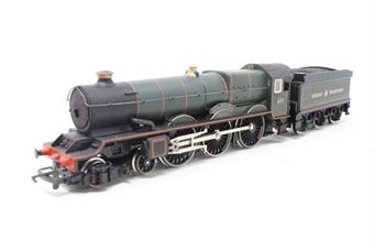 "R292king-PO03 Class 6000 4-6-0 6027 ""King Richard I"" in GWR Green - Pre-owned - DCC fitted, imperfect box"