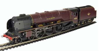 R2930 Duchess Class 4-6-2 46243 'City Of Lancaster' in BR Maroon with late crest