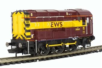 R2934 Class 08 Shunter 08865 in EWS livery