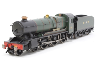 R2937-PO08 County Class 4-6-0 1006 'County Of Cornwall' In GW (GWR) Green livery (Railroad Range) - Pre-owned - detailed - includes 1011 'County of Chester' nameplates in box - imperfect box £60