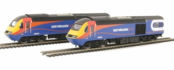 R2948 Class 43 HST power (43055) and dummy (43048) pack in East Midlands trains livery -DCC ready