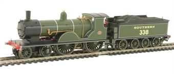 """R2952Loco Class T9 4-4-0 338 in Southern Green - from """"Imperial Airways"""" train pack"""