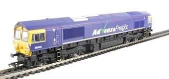 R2954 Class 66 66842 in Advenza Freight livery
