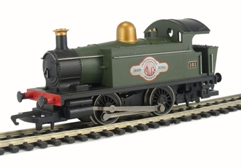 R2957 GWR Class 101 0-4-0 '1835 -2010' in green - Ltd Edition of 1835 - GWR 175 Swindon Collection