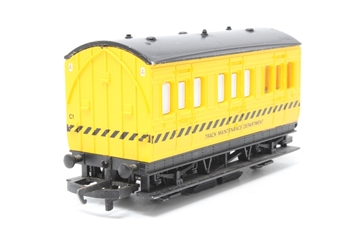 R296-PO69 Track cleaning coach - Pre-owned - missing cleaning pad
