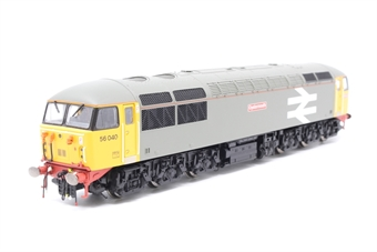 "R2962-PO04 Class 56 56040 ""Oystermouth""' in Railfreight grey - Pre-owned - DCC fitted - imperfect box"