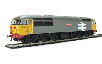"""R2962 Class 56 56040 """"Oystermouth""""' in Railfreight grey"""