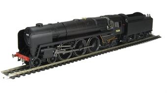 R2975 Class 7P 4-6-2 'Britannia' 70000 in original unlined BR Black as built.