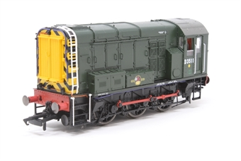 R2977XS-PO01 Class 08 shunter D3511 in BR green - DCC sound fitted - Pre-owned - Sound stutters when locomotive starts moving