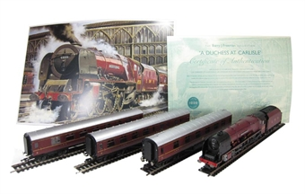 R2985 'Duchess At Carlisle' Train pack - Barry J Freeman collection. Limited edition