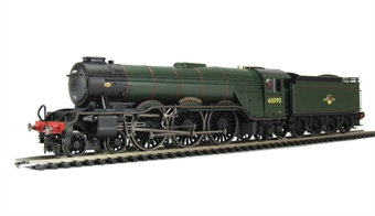 """R3013 Class A3 4-6-2 60093 """"Coronach""""in BR Green with late crest and GNR Tender."""