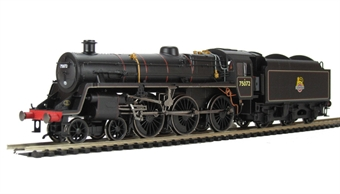 R3016 Standard Class 4MT 4-6-0 75072 in BR Black with early emblem