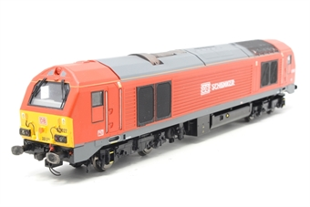 R3038-PO02 Class 67 67027 DB Schenker - Pre-owned - renumbered and reliveried