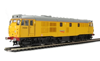 R3044 Class 31 31233 in Network Rail Yellow