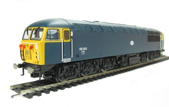 R3050A Class 56 56083 in BR Blue livery