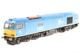 "R3051-PO01 Class 60 60033 ""Tees Steel Express"" in British Steel Blue with EWS cabside branding - Pre-owned - DCC Sound-fitted"