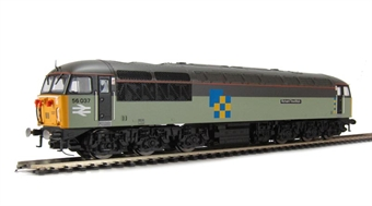"R3052 Class 56 56037 ""Richard Trevithick"" in Railfreight Construction Livery"